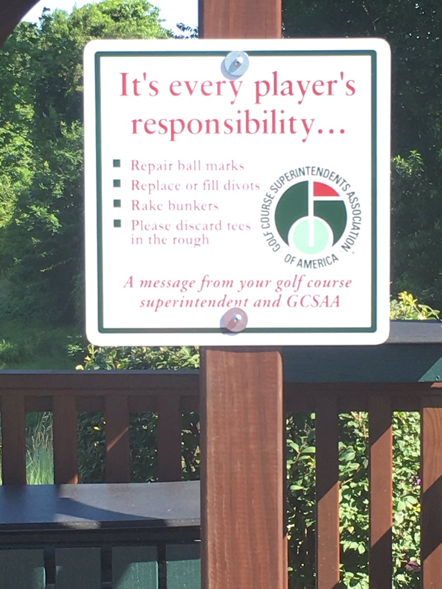 Course etiquette reminders on 1/10 and 1...