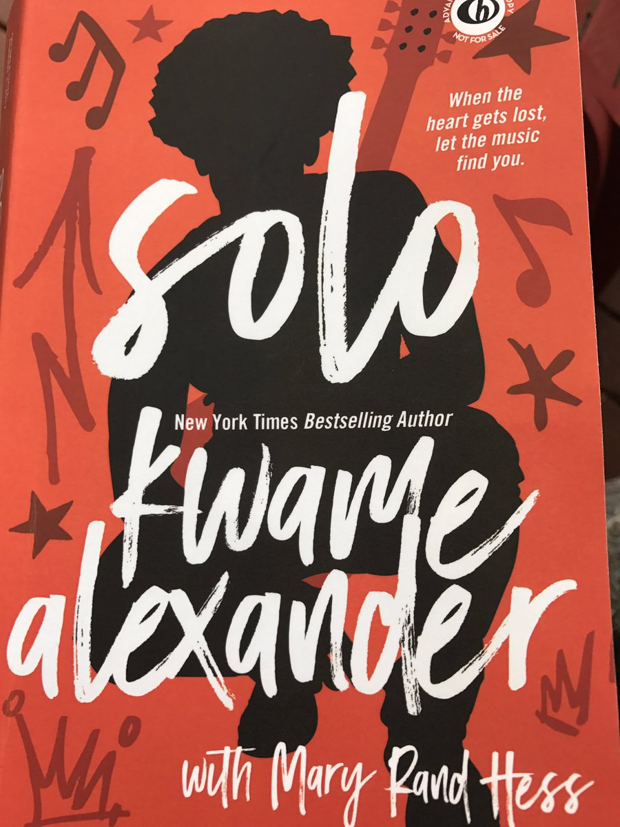 #Solo Page titles are killer! Only on page 59 and I&#39;ve laughed/cried/sang. Solo Movie?Musical?@kwamealexander  @BlinkYABooks @MaryRandHess<br>http://pic.twitter.com/ZbRv1tYJ9r