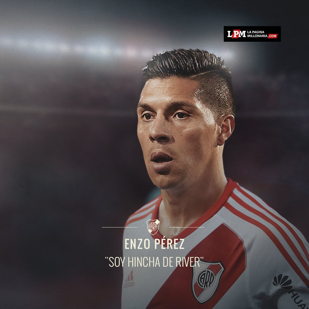 RT si no aguantás más y querés ver a Enzo Pérez con la camiseta de Riv...