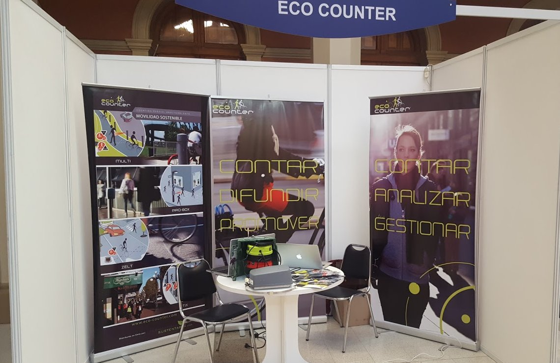 Stand @Eco_Counter at #Mobilize #Chile ready #Sustainable #Transport Summit Come a visit 4 details about the best technology<br>http://pic.twitter.com/X3Z91pi5sI