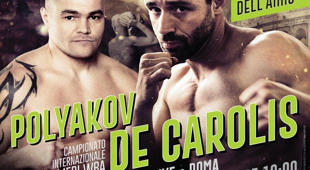 Boxe: De Carolis vs Polyakov Diretta Live Streaming Gratis Video su TV8