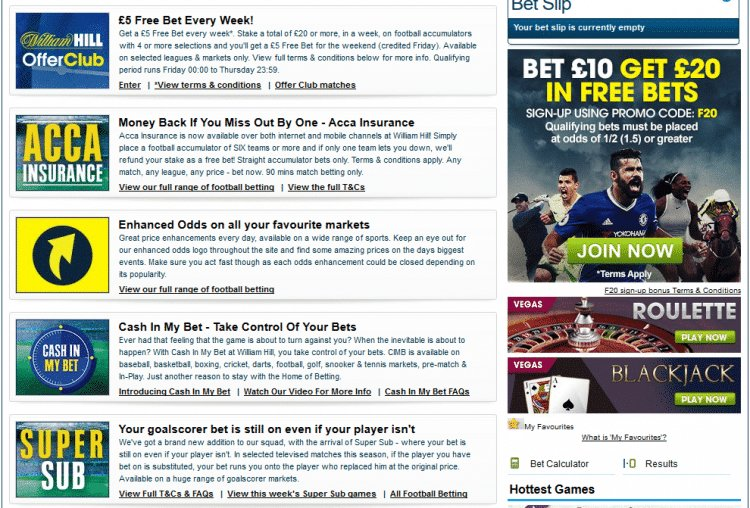 WilliamHill - Check out this months great promo Offers - #Casino #Sport  http:// bit.ly/PromoWH  &nbsp;  <br>http://pic.twitter.com/oatlm2Mt8a