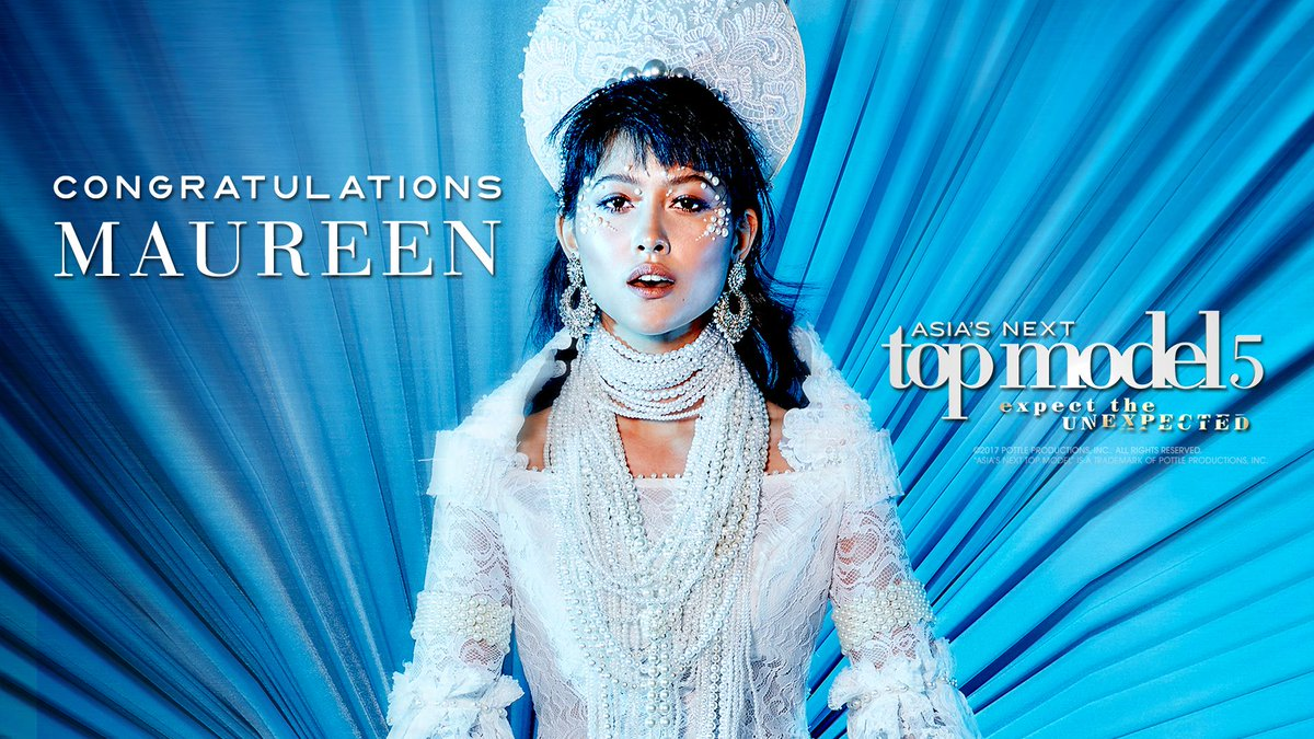 JUST IN: Filipina model Maureen Wroblewitz wins Asia's Next Top Model...