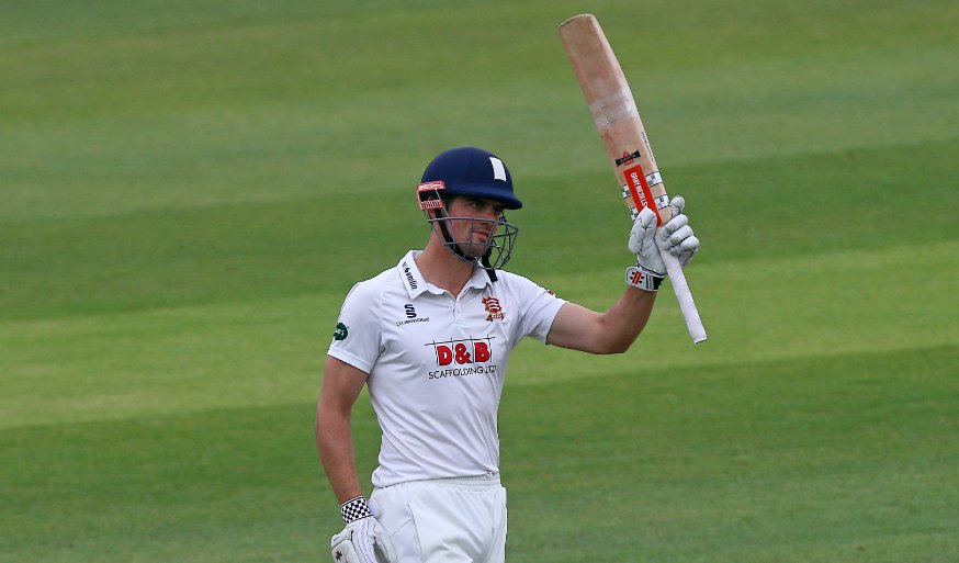Alastair Cook has made his 59th first-class century.  It's his third o...