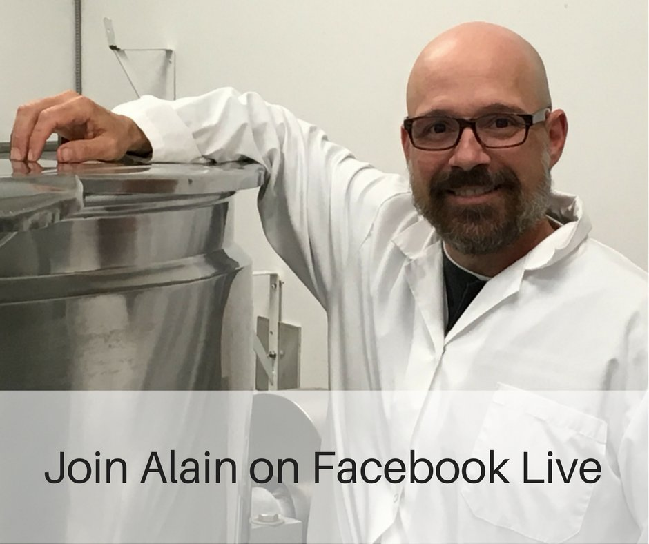 Join us today at 1:30 pm on Facebook Live to find out why & how to switch from aluminum-based antiperspirants to natural deodorants.