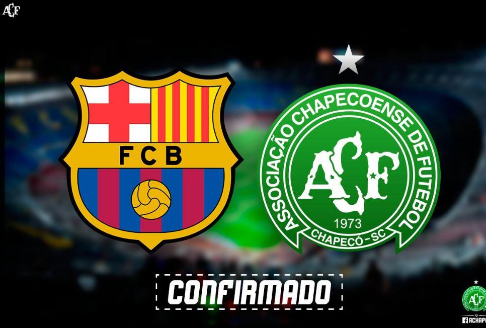 #JoanGamper17 | El Barça - Chapecoense ya tiene fecha https://t.co/XtO...