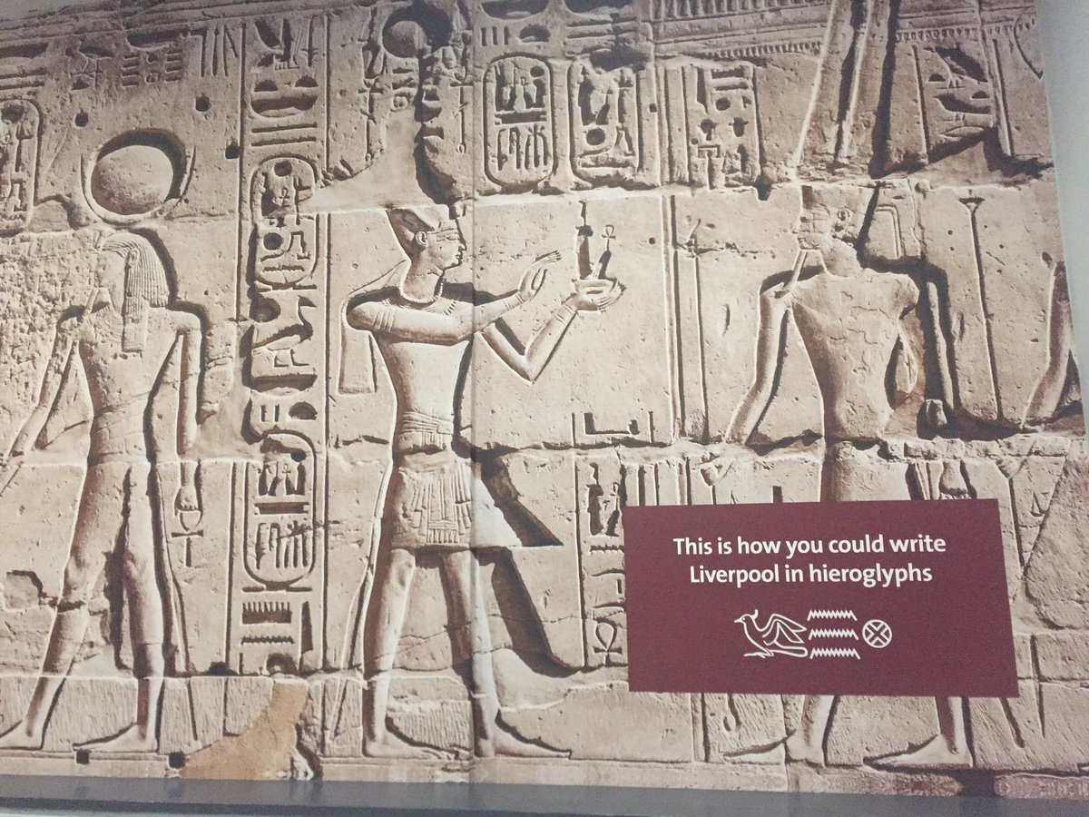 Took a bit of time out to run around the new #Egypt galleries in #Liverpool. Stunning collection, loved the Liverpool excavation connections <br>http://pic.twitter.com/m14id2xdE7