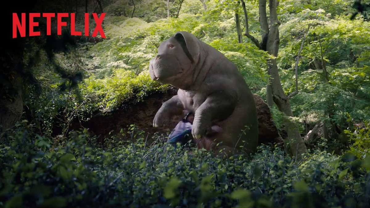 Here she is. The one, the only. OKJA. Now streaming. https://t.co/cKrK...