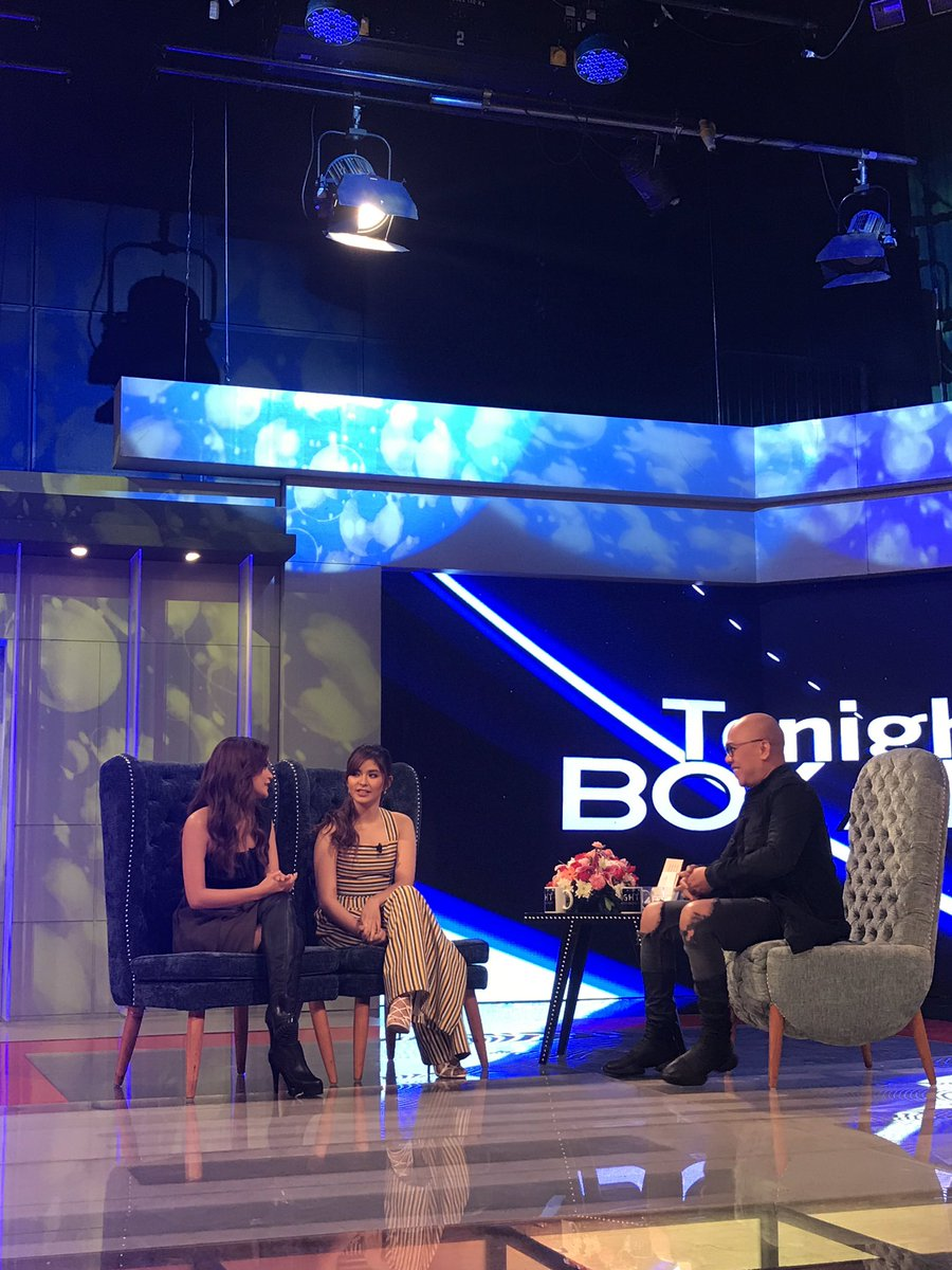 Catch the funny episode later! #TWBALoiRis @MissMarisRacal @iamAndalio...