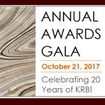 SAVE THE DATE!!!!!! OCTOBER 21 20th Year Celebration - For ticket and sponsorship information: info@keeprocklandbeautiful.org