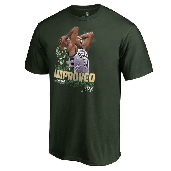 Celebrate awards season wth a Giannis MIP T-Shirt.   Available in Mens...