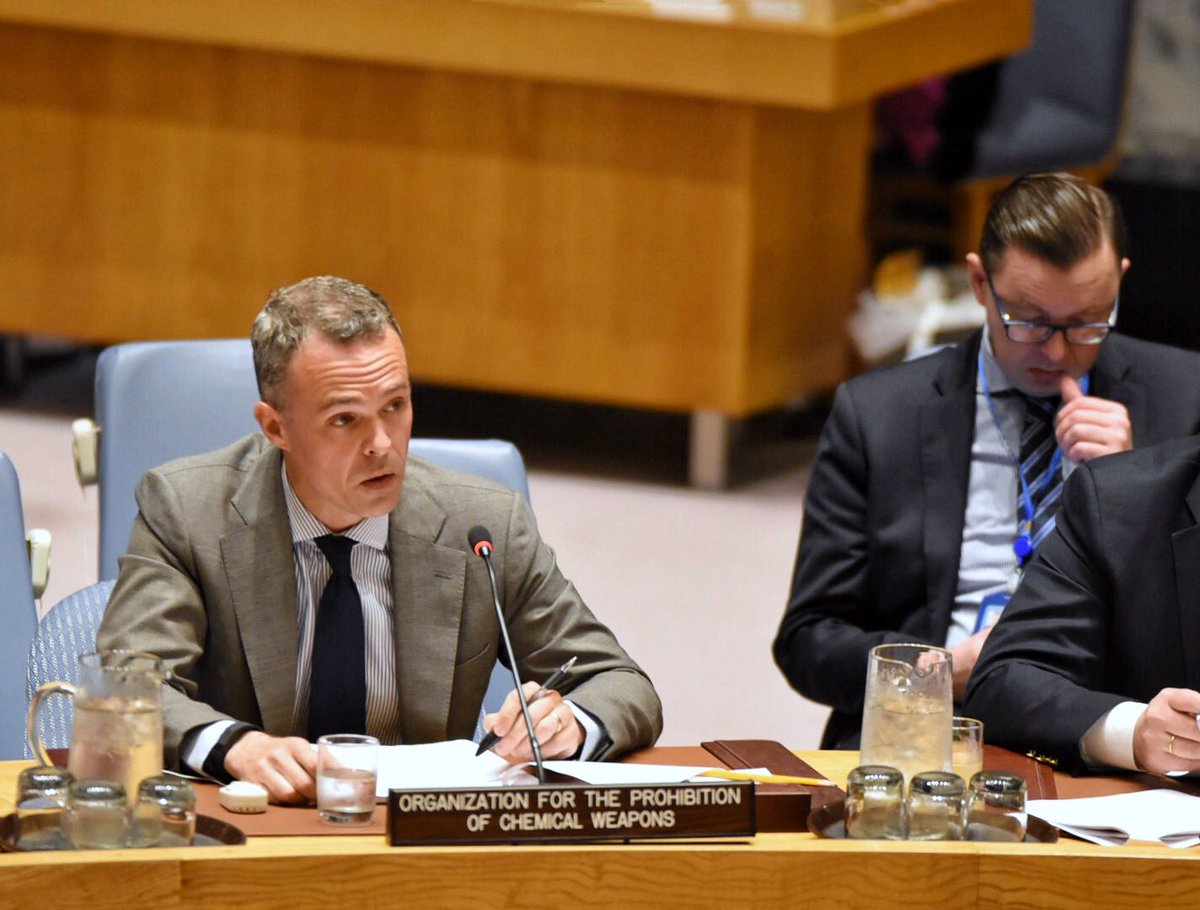 #UNSC #WMD @JoePBallard: Prevention is crucial. Collaboration &amp; transparency bet @OPCW &amp; int&#39;l community essential for #chemical security<br>http://pic.twitter.com/pYEIb3T454