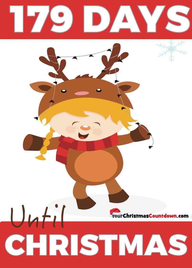 How Many Days Til Christmas.Your Christmas Countdown On Twitter 179 Days Until