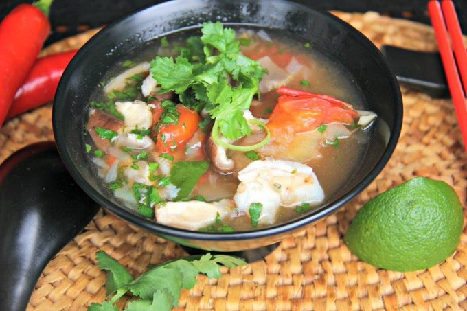 This Tom Yum Soup Will Make You Believe You're In Thailand