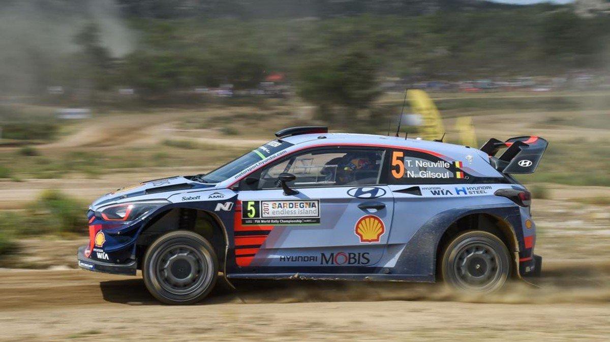 #WRC | Neuville, al asalto de Ogier en el Rally de Polonia https://t.c...