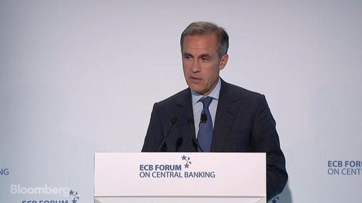Mark Carney's comments about a possible increase in interest rates mar...