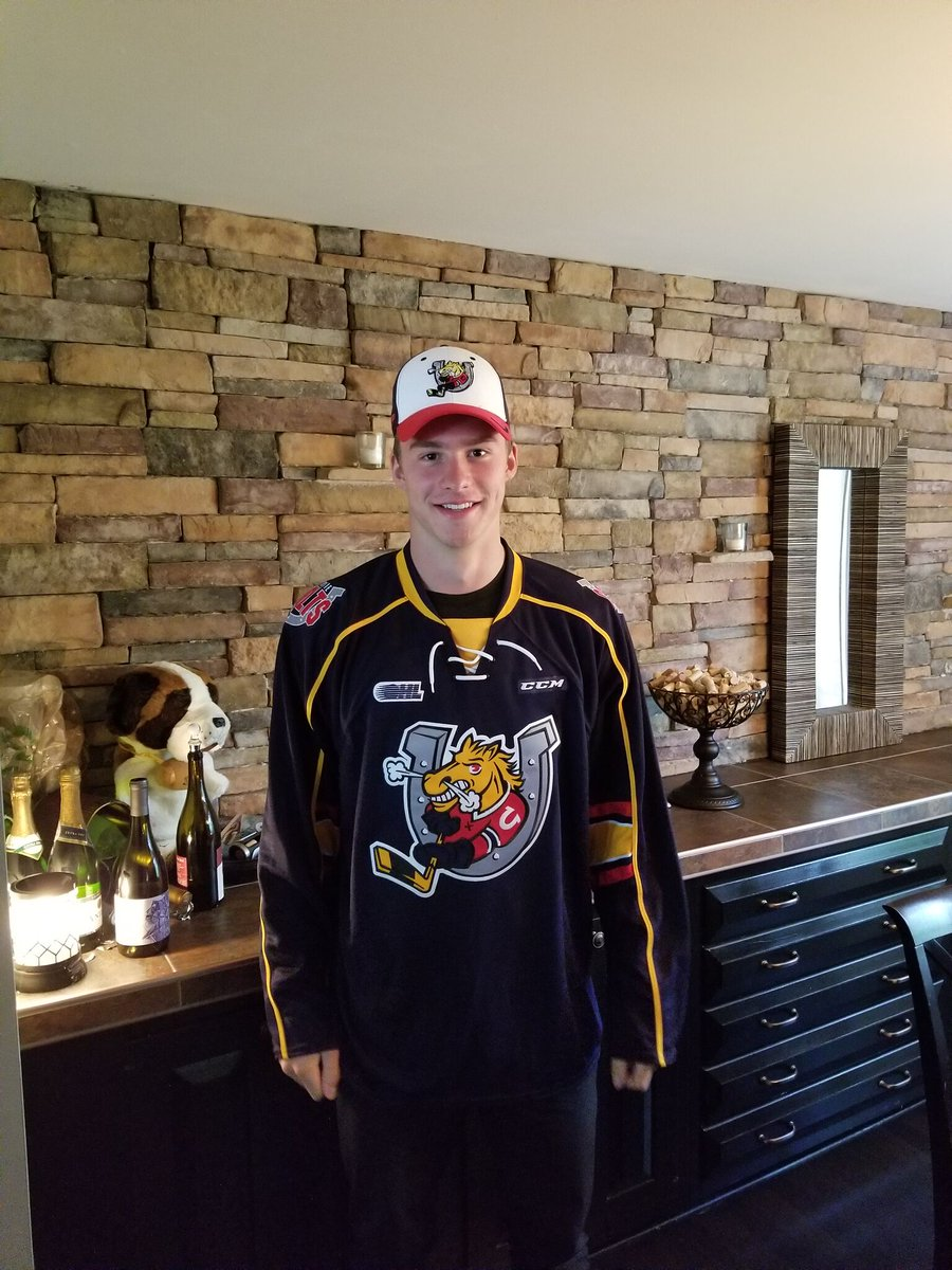 Colts select Andrei Svechnikov 1st overall in the 2017 CHL Import Draf...