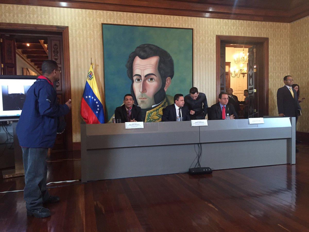 Canciller Samuel Moncada ofrece declaración a la prensa sobre intento...