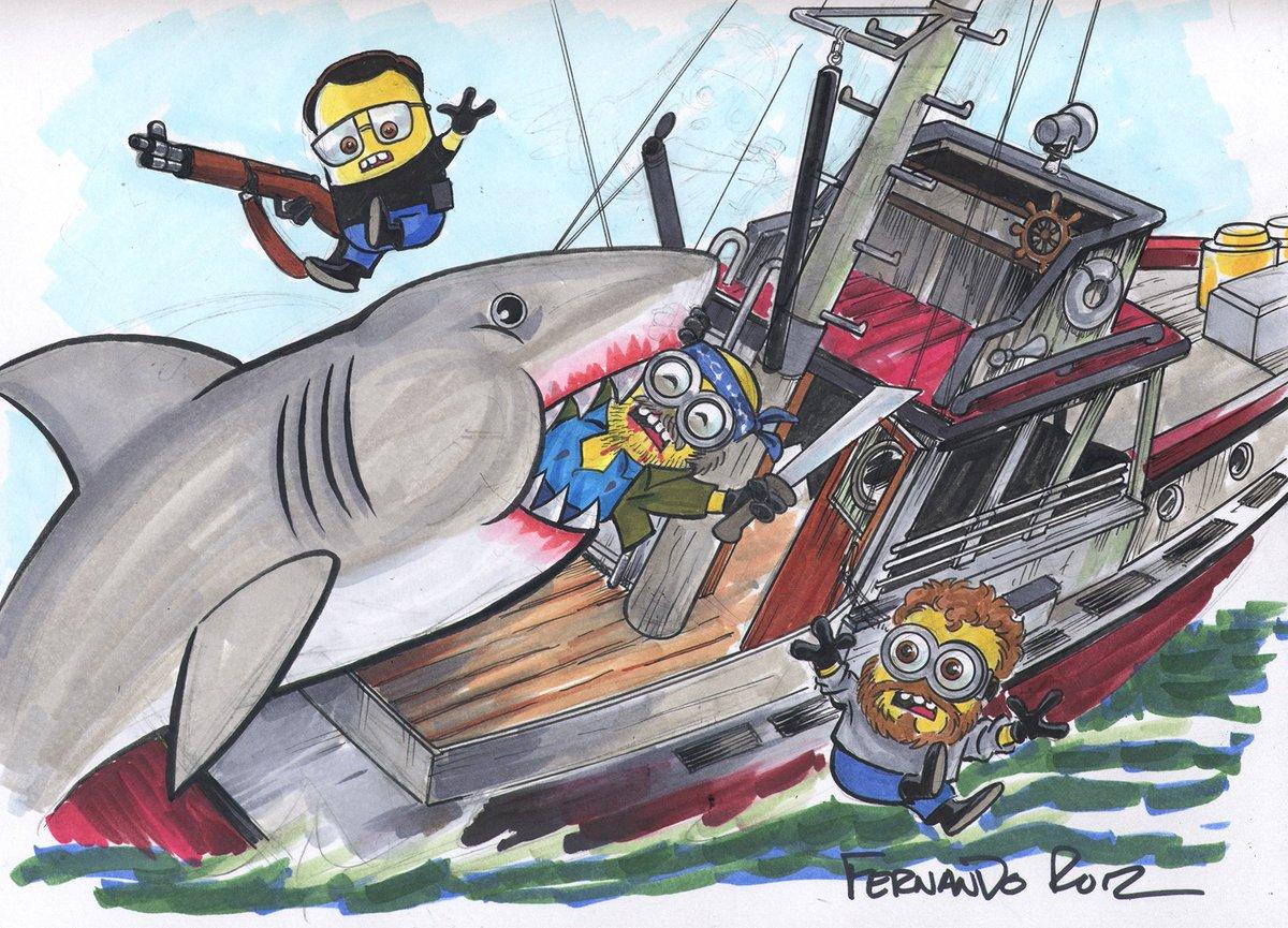Check  http:// fernandoruizeverybody.com/minions-jaws/  &nbsp;   for my #Minions  meet #Jaws! @DieKittyDieNow @AnthonyMMarques @TheKubertSchool @DynamiteComics @GiseleLagace<br>http://pic.twitter.com/3heDecidrP