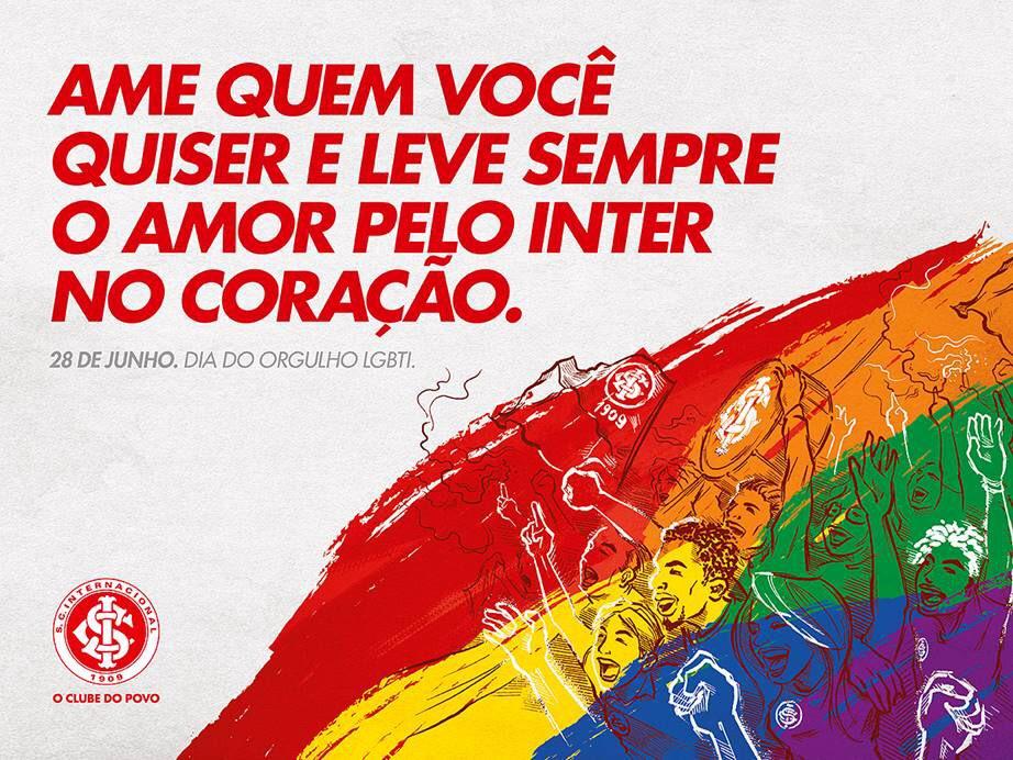 Igualdade é o sentimento que nos une. #ClubeDoPovo