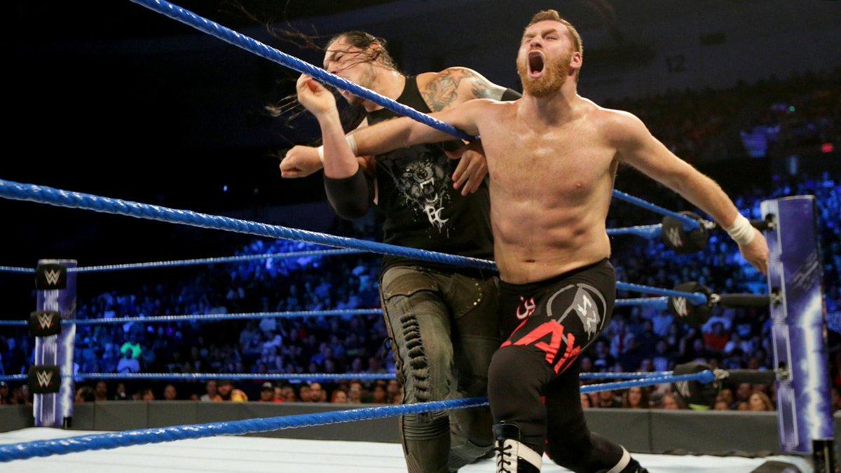 non perdete WWE SMACKDOWN ⌚️ 19.00 📺 @SkySport 3 con BARON CORBIN vs S...