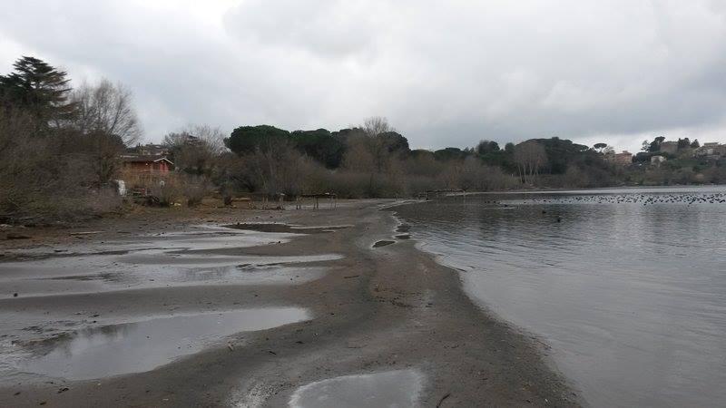 Risultati immagini per Lago di Bracciano cala di livello