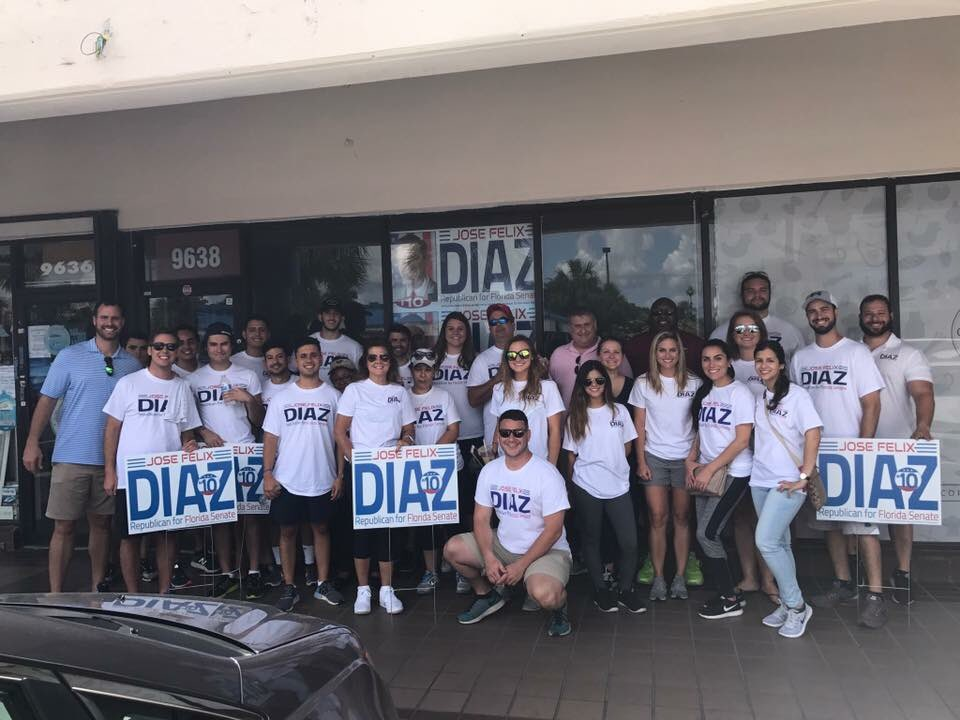 Always a pleasure to spend a day out on the trail in support of @josefelixdiaz for FL SD 40. Vote by mail or in person 7/25 #FlaPol #sayfie <br>http://pic.twitter.com/4iZQkTiREb