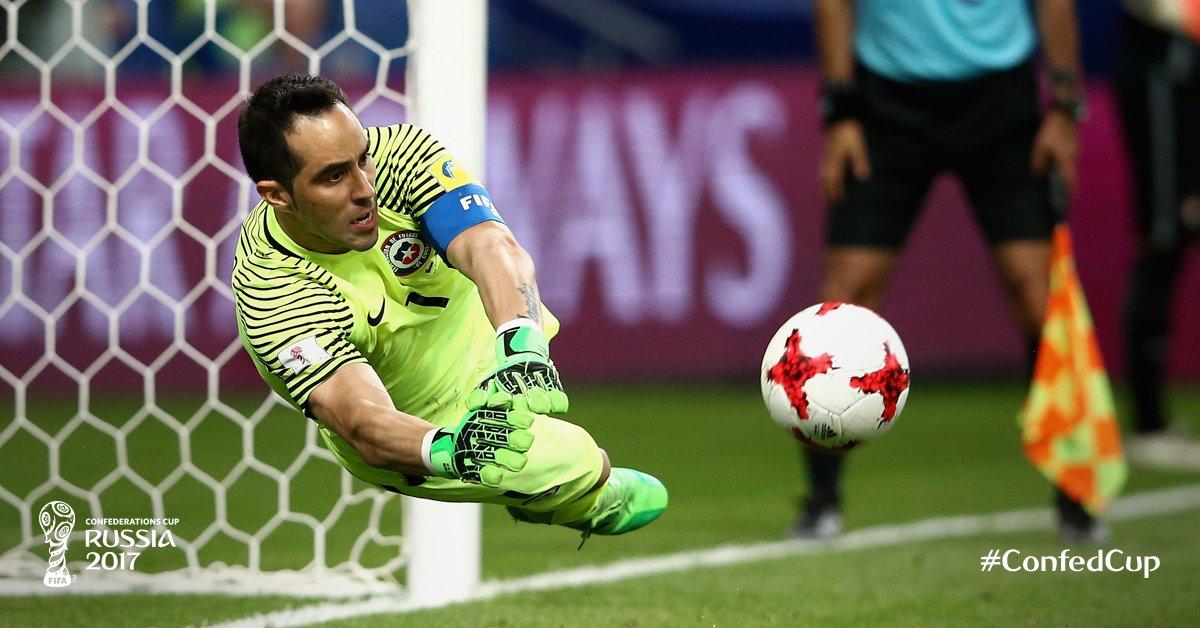 Faced 3⃣ penalties, saved 3⃣ penalties.   Tonight belongs to Claudio B...