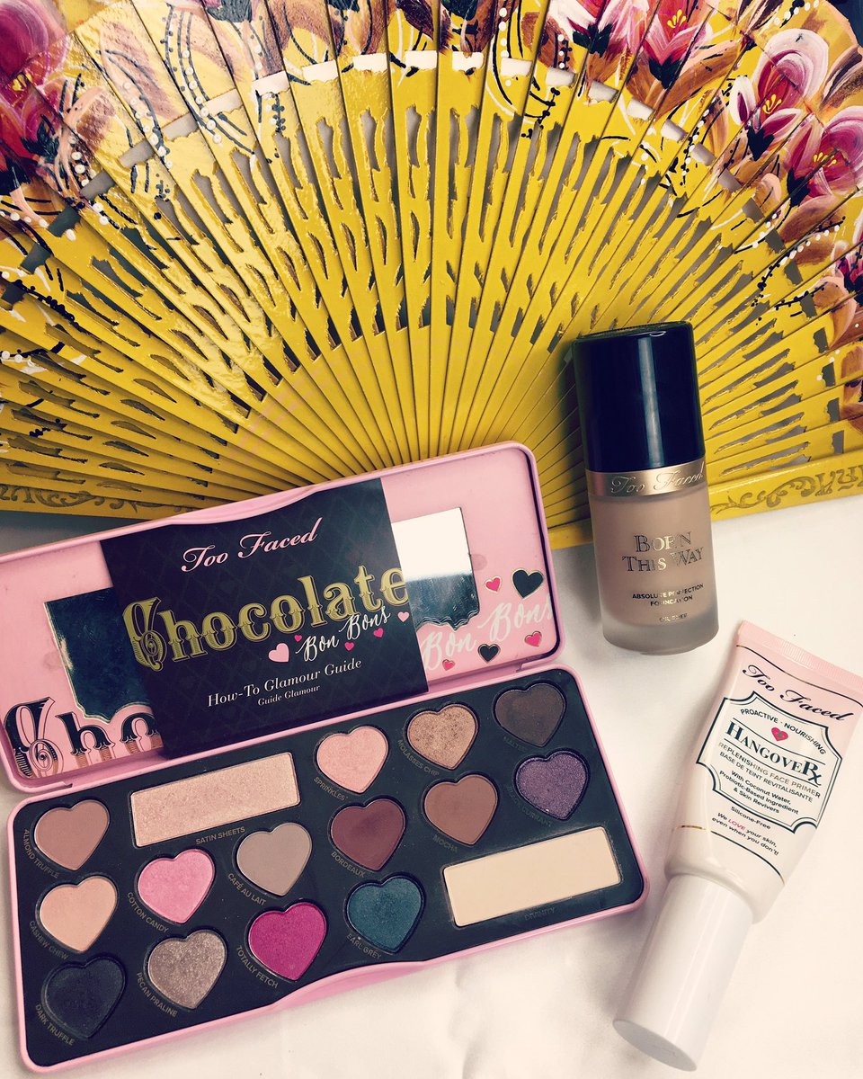 Today is a @TooFaced kinda day!! #toofaced #chocolatepalette<br>http://pic.twitter.com/BVW3IlZ8Ap