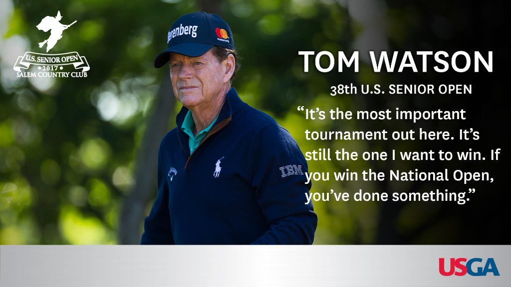 Why is the #USSeniorOpen so important to @TomWatsonPGA? https://t.co/u...