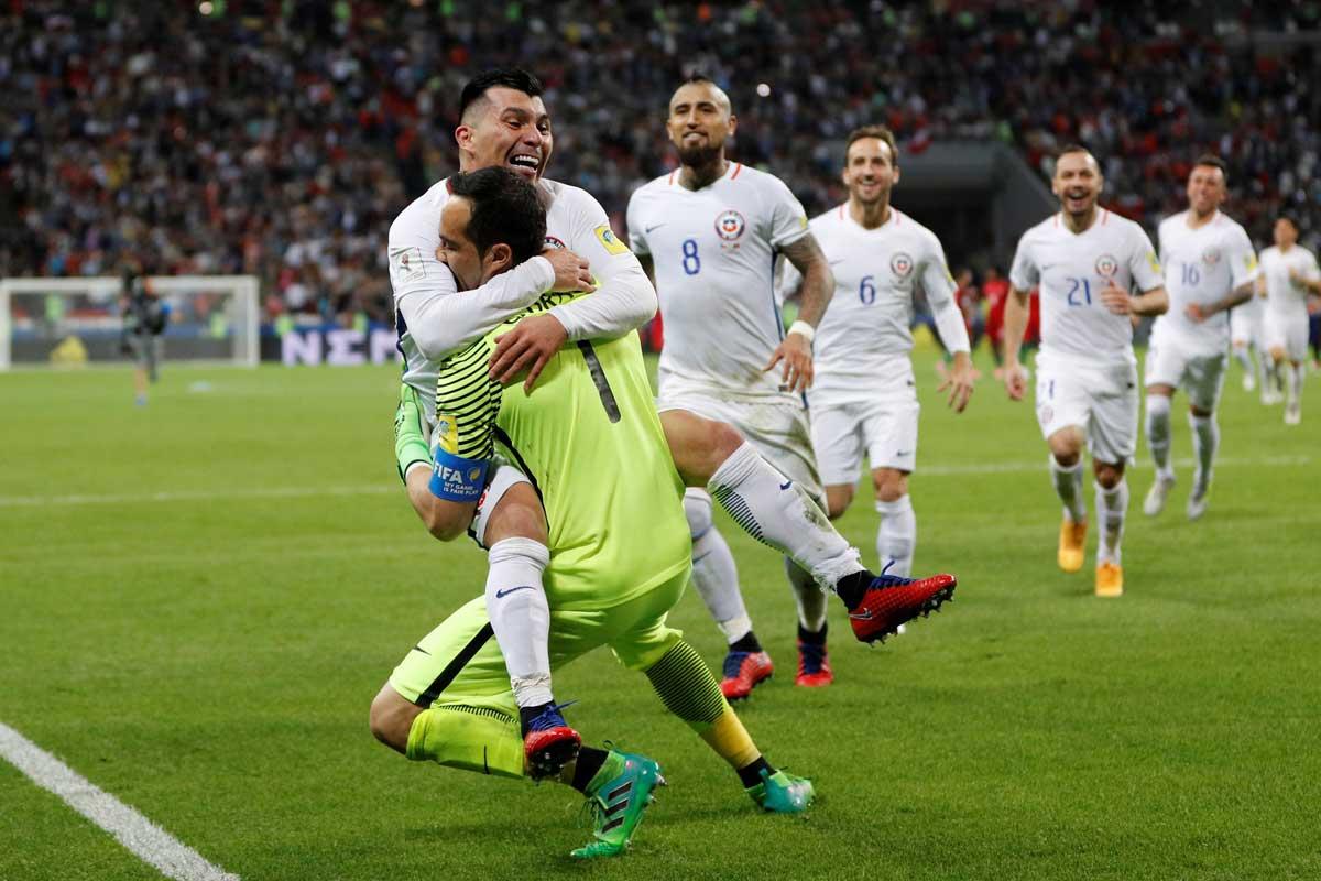Bravo, Chile, Portugal, Copa Confederaciones, Rusia 2017
