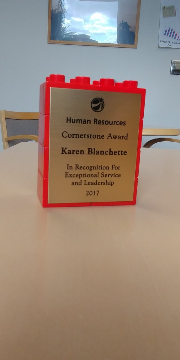 What the whaaa? Today I was recognized for my outstanding work with a cornerstone award. Comes with 16 hrs of extra vacation! #woohoo <br>http://pic.twitter.com/ASNTUrTVWI