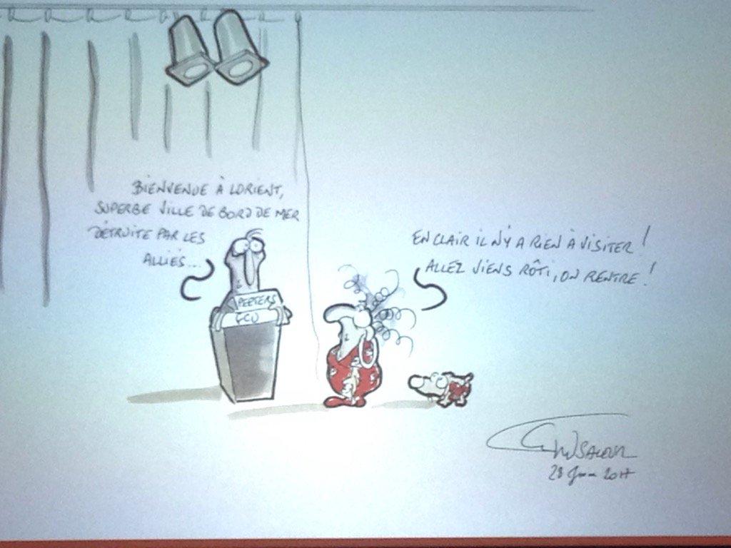 Premier dessin du colloque @sup_lorraine #colloquefcu https://t.co/snhnFusEYZ