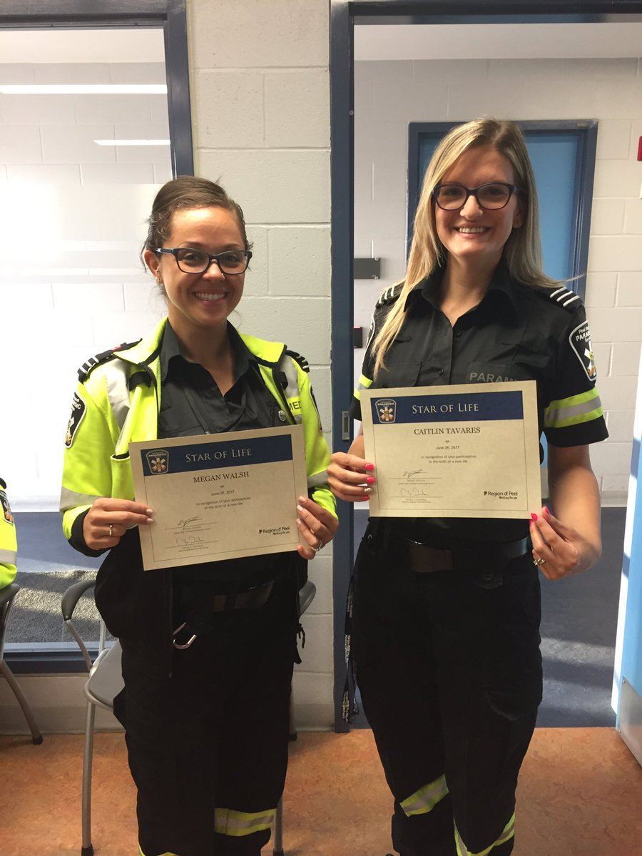 Congrats to these two great #paramedics who delivered a new #Baby boy...