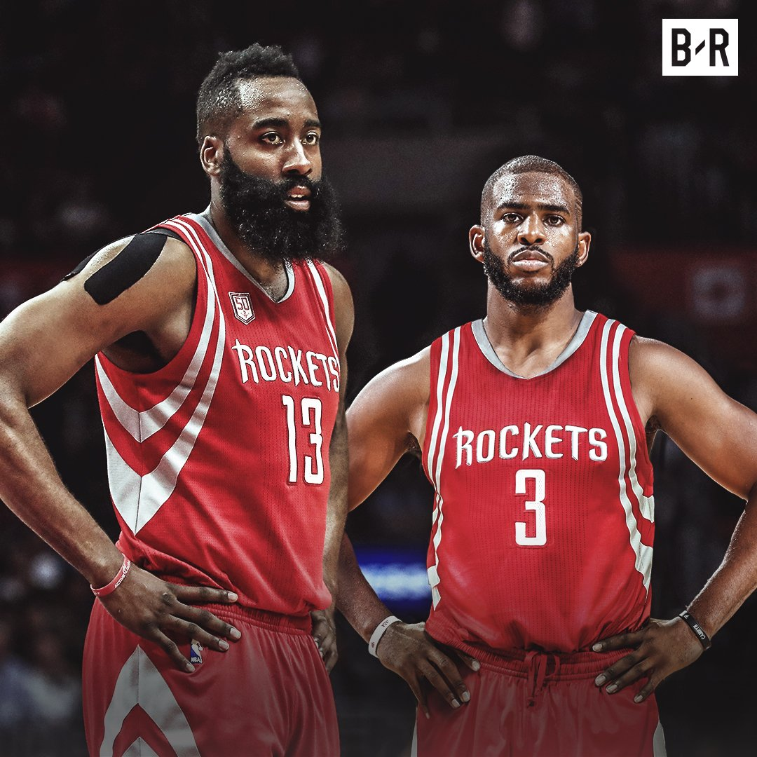 James Harden Quadruple Team: Cp3 And James Harden Team Up In Houston, Per