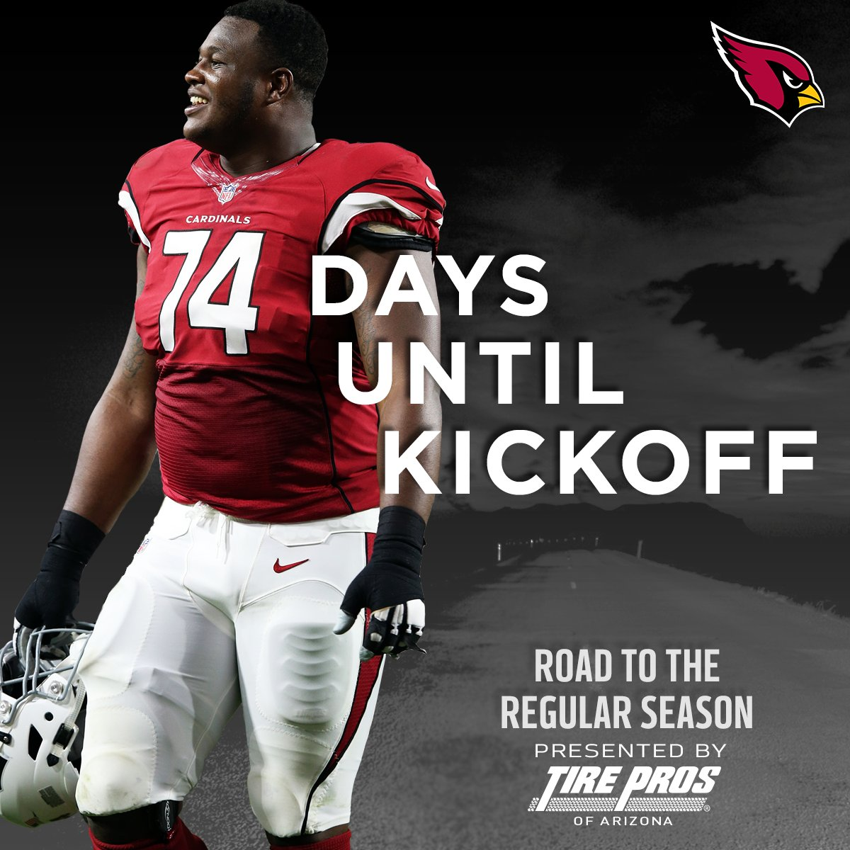 7⃣4⃣ DAYS! https://t.co/A0ngzwGMhv