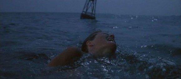 Jun 28th 1974 - #Jaws kills Chrissie Watkins in the opening scene <br>http://pic.twitter.com/3hgfhDNzg7