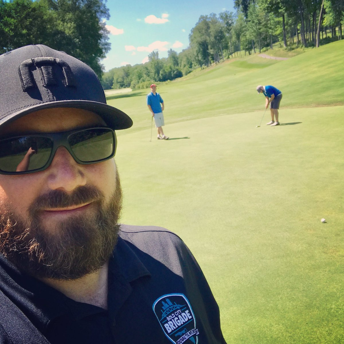 @BoldCityBrigade Representing BCB #Jaguars on the golf course. At Wintonbury Hills in Connecticut. <br>http://pic.twitter.com/sVQigfxBrF