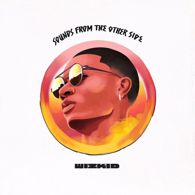 Twitter reacts to the first look at the art for Wizkid's 'Sounds From The Side' Album