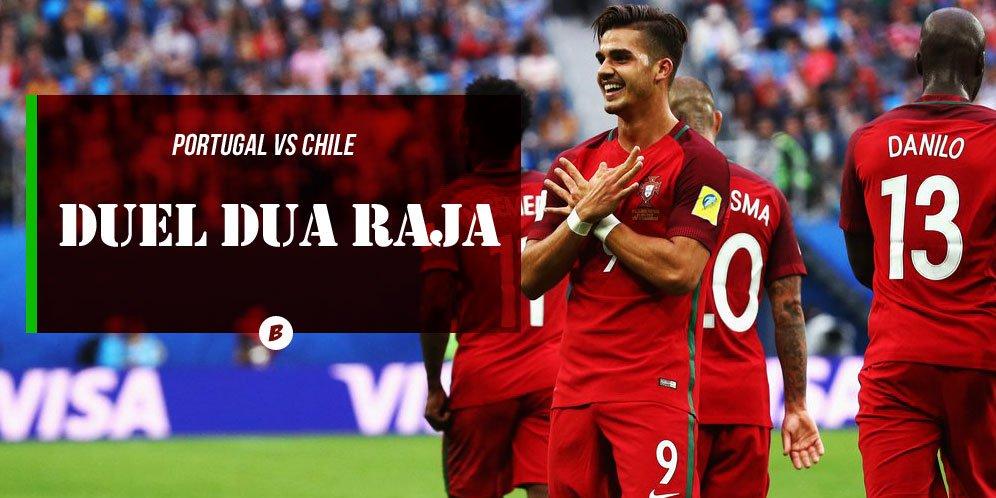 #LiveBolanet Portugal vs Chile | Kamis (29/6), di RTV dan Fight Sport...