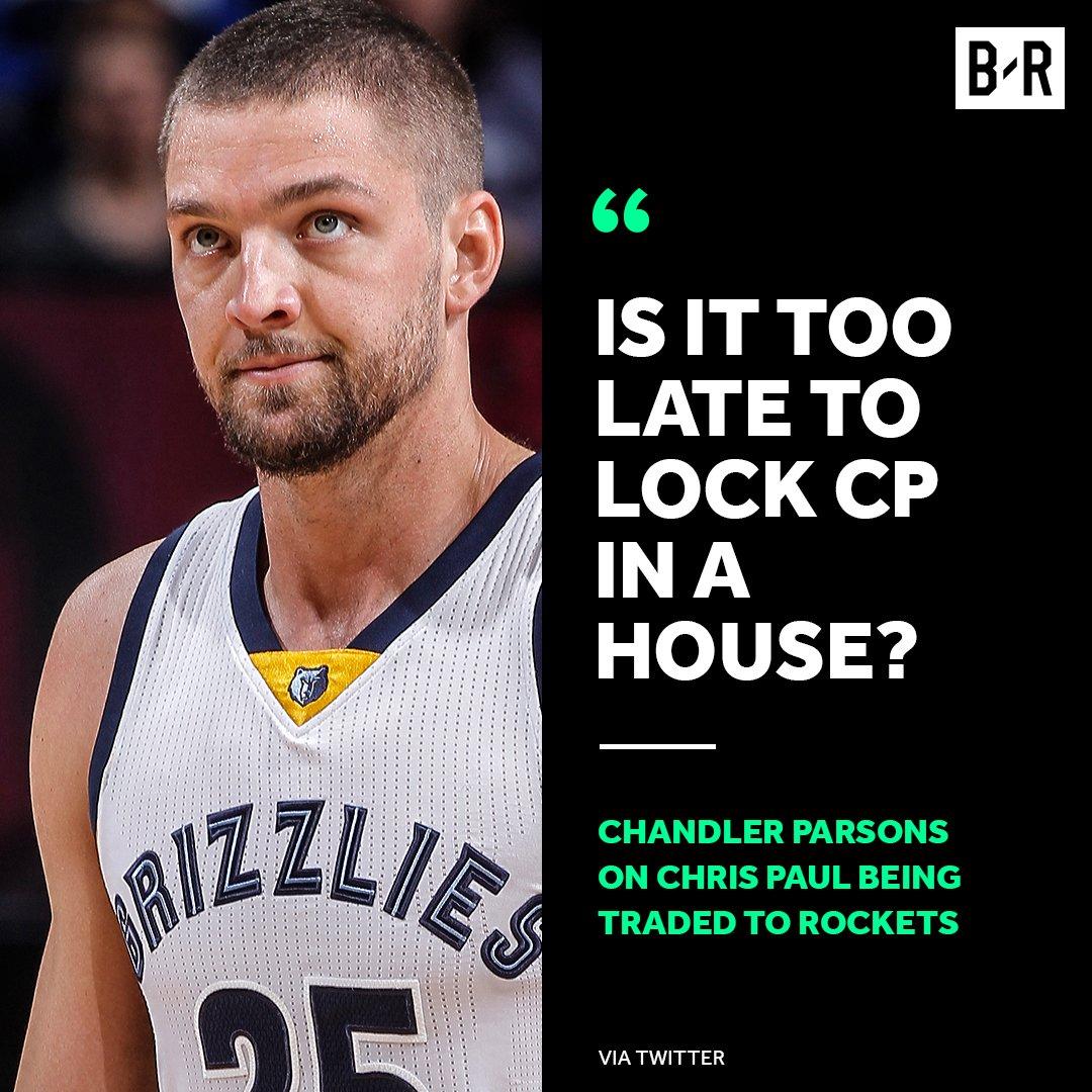 Parsons wants DeAndre Jordan part 2 to happen. 😂 https://t.co/i0KDevXZ...