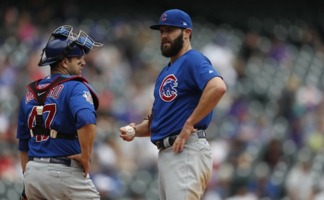 Miguel Montero after the #Cubs cut him: 'People can't handle the truth...