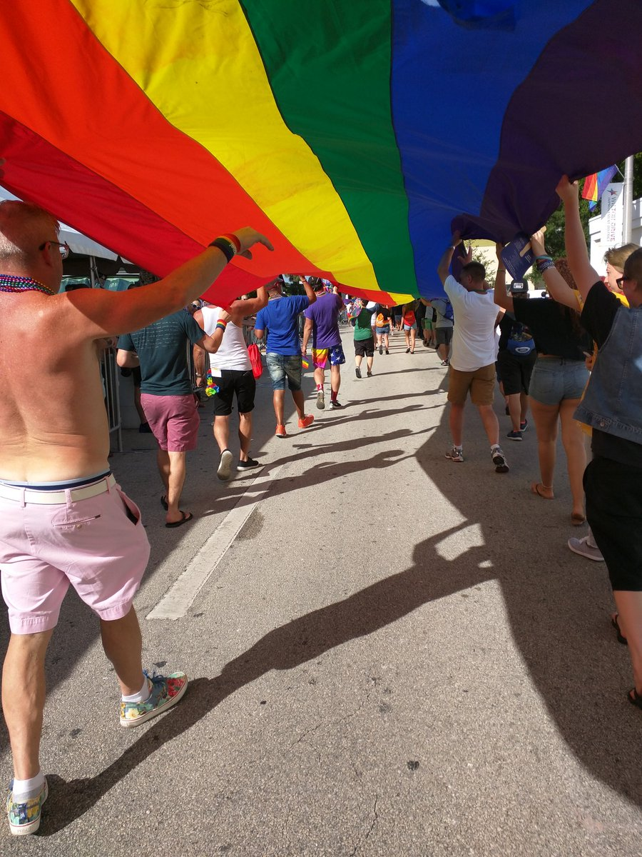 #PrideMonth  #WiltonManors #FortLauderdale Inside &amp; Over the Rainbow  <br>http://pic.twitter.com/K8vKs9mb9u