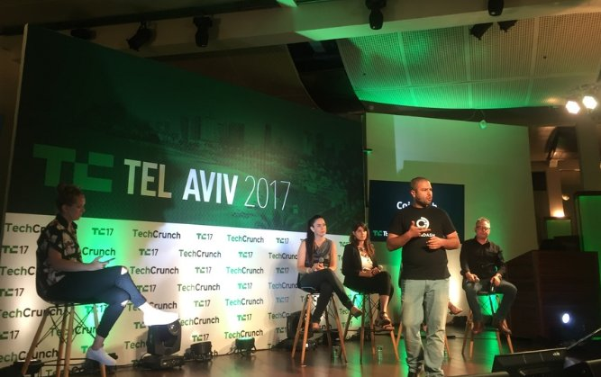 Alon presenting CoinDash and #blockchain to the @TechCrunch Pitch competition in Tel Aviv! #Bitcoin #Ethereum #BTC #ICO #cryptocurrencies<br>http://pic.twitter.com/1jOHbXje7d