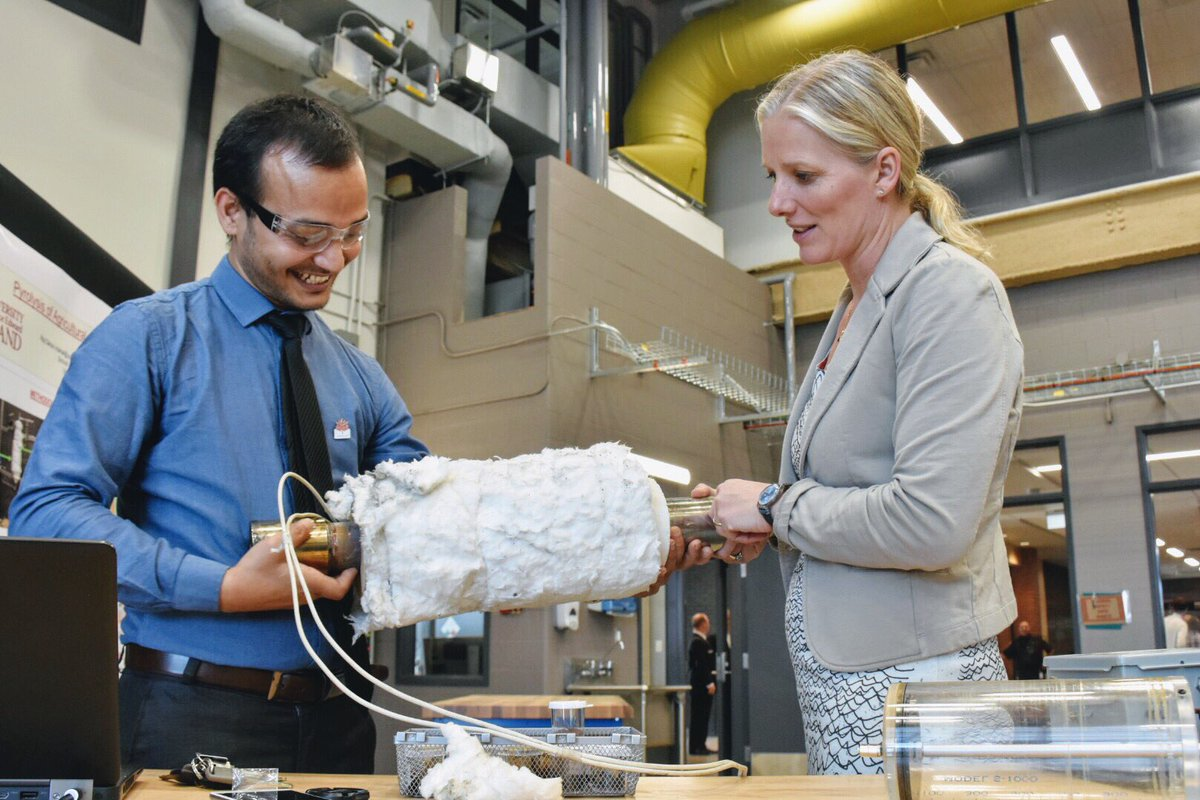 Excited by all of the new innovations here at the @UPEI as School for #Sustainable Design Engineering <br>http://pic.twitter.com/rAwkm8JzG1
