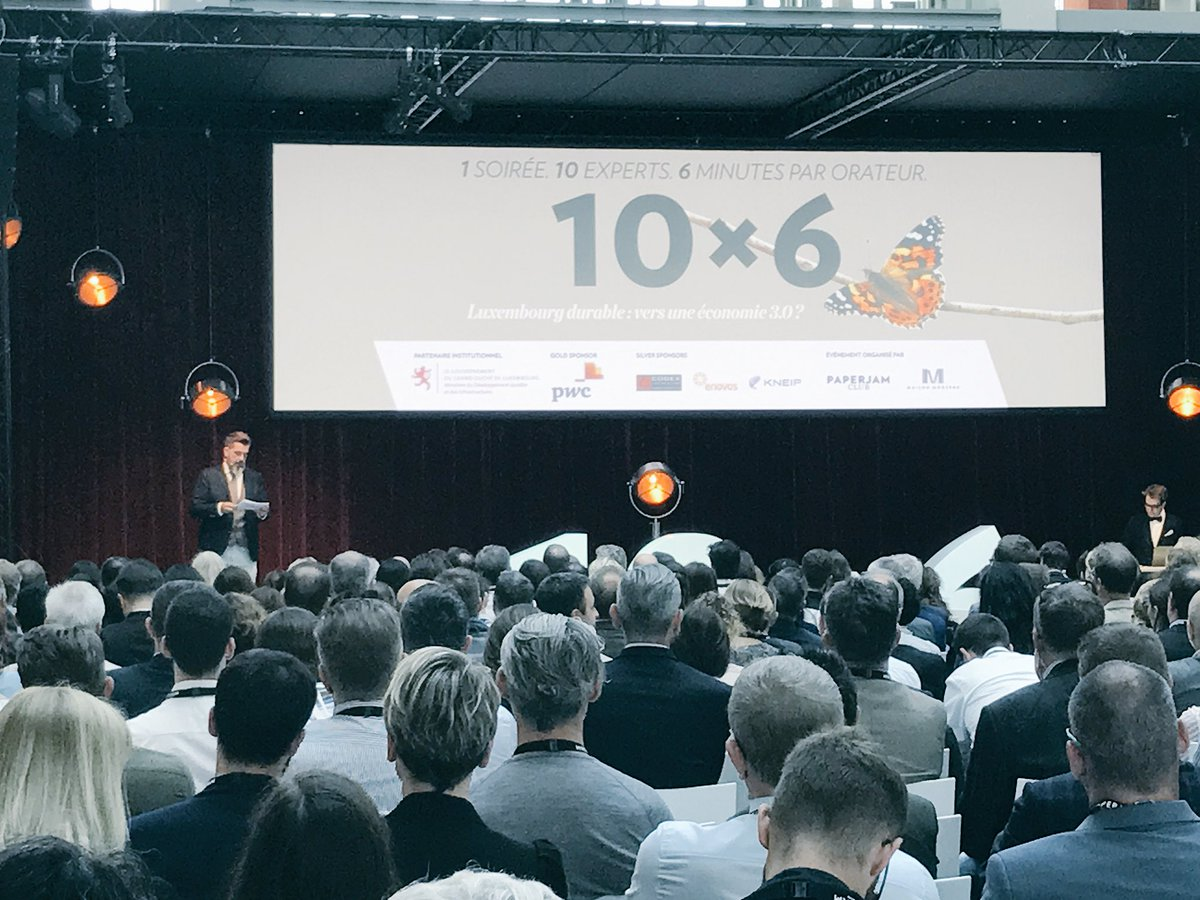 Innovative solutions, ambitious ideas and a strong commitment to build a #sustainable #Luxembourg. Happy to host @pJBusinessClub #10x6<br>http://pic.twitter.com/4yfnc5K5lv