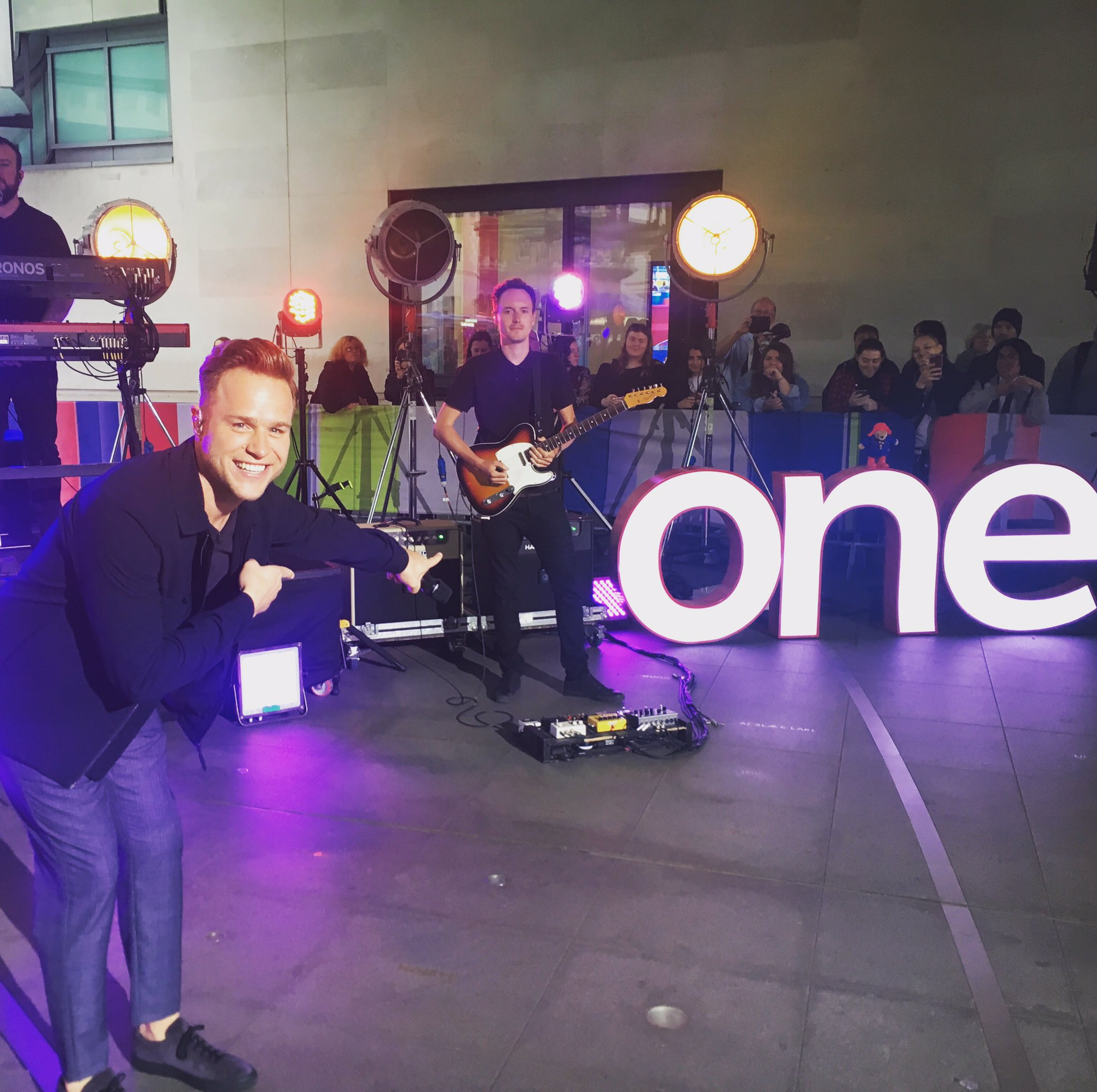 Tune into @BBCTheOneShow now where I'm chatting and performing #Unpredictable ������ https://t.co/qnuFoEb11q