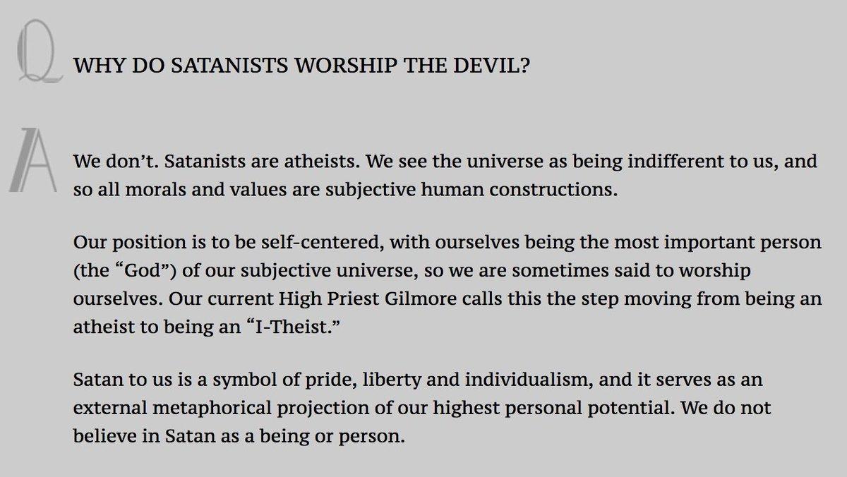 The Church Of Satan On Twitter Southern Baptist Presbyterian