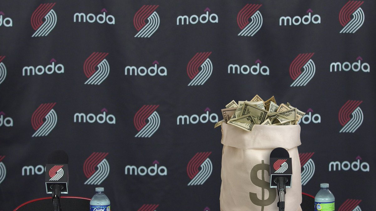 'This trade is a blessing. I'm ready to grind, Rip City. I think I can make an immediate impact out on the floor.' -- Cash Considerations