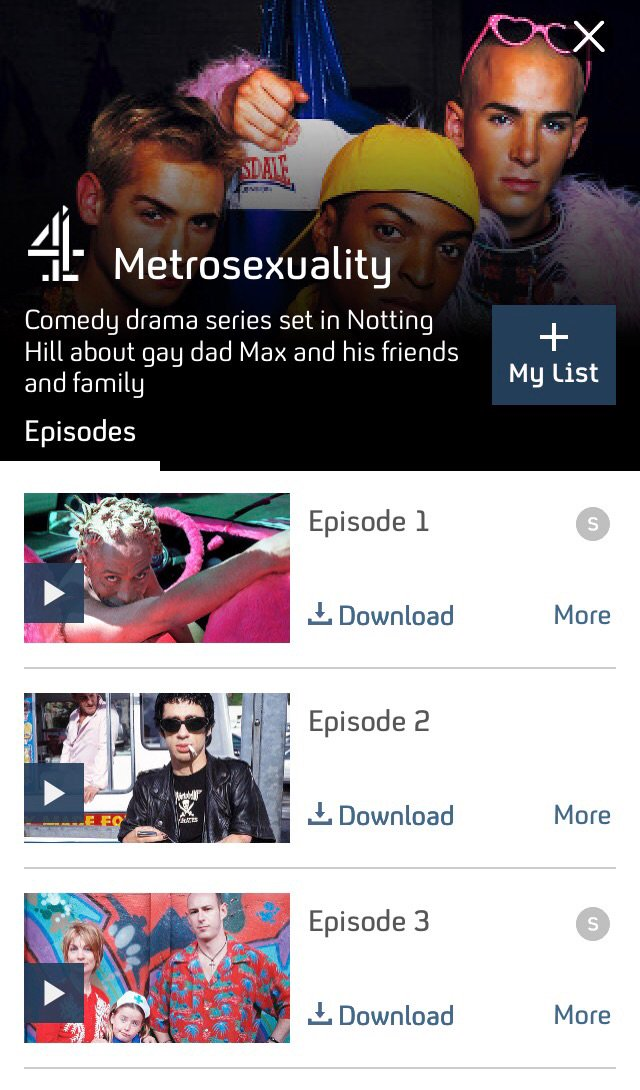 Metrosexuality episode 1